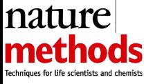 nature methods logo